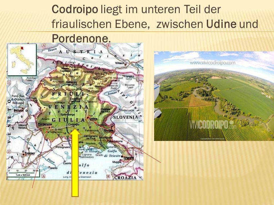  Codroipo liegt in der Provinz Udine  Fotos von Udine