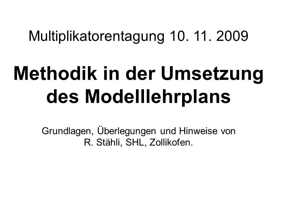 Multiplikatorentagung 10. 11.