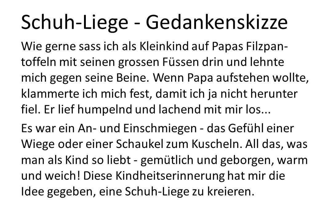 Filzpantoffel-Skizze Papas Filzpantoffeln