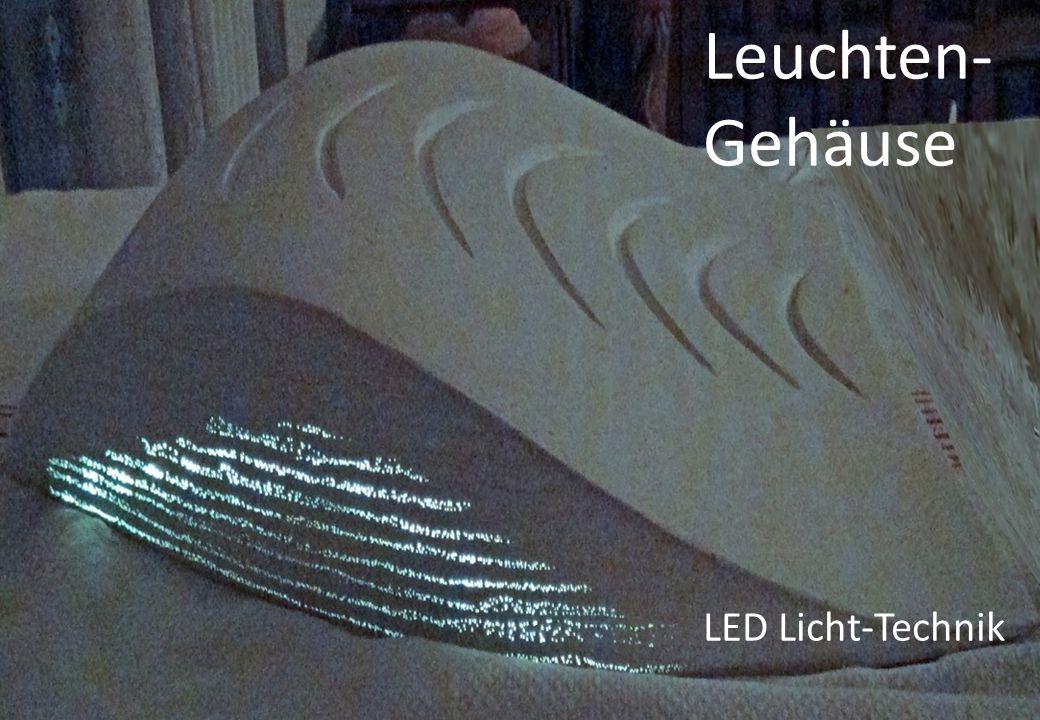 Leuchten- Gehäuse LED Licht-Technik