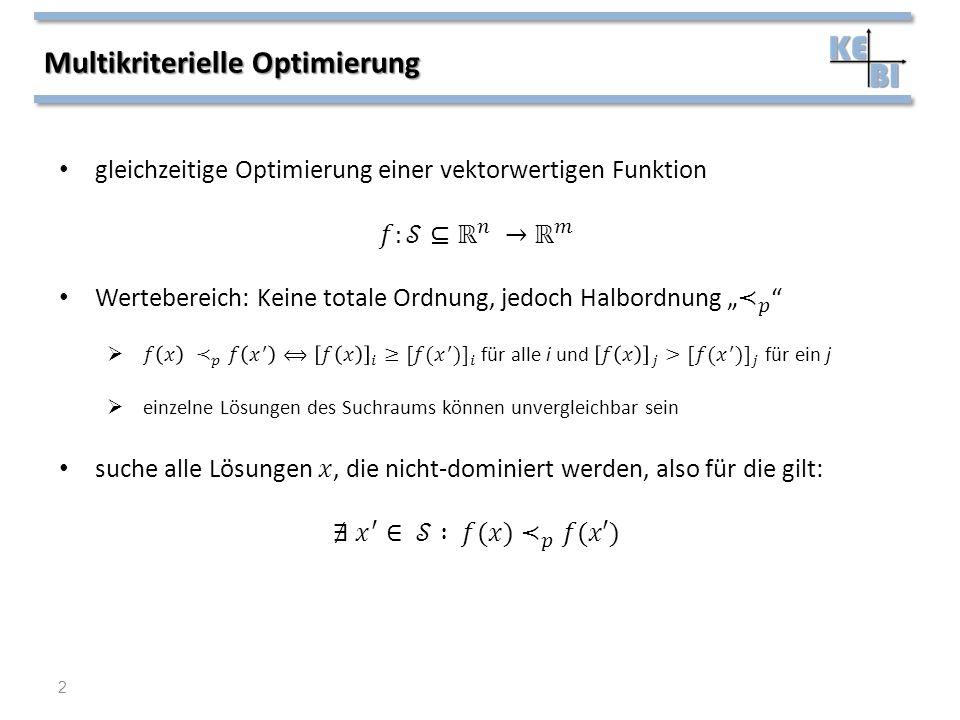 Multikriterielle Optimierung 2