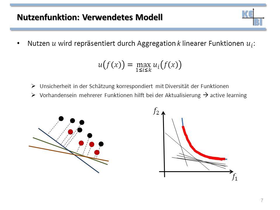 Nutzenfunktion: Verwendetes Modell 7