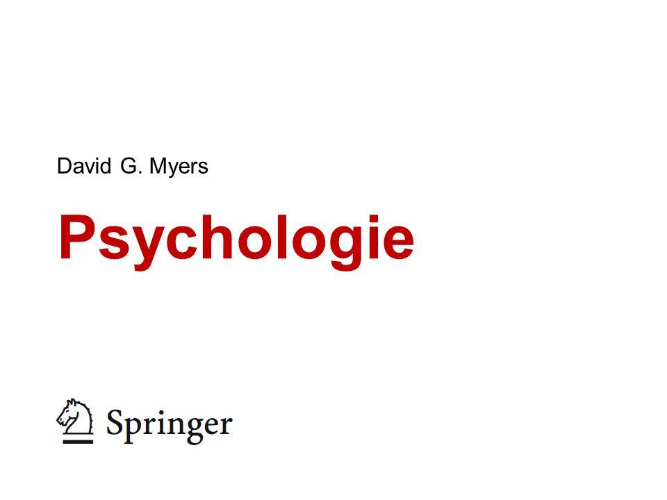 Psychologie David G. Myers
