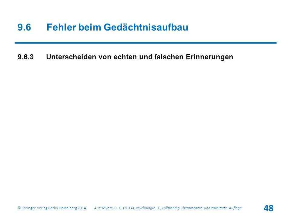 Aus: Myers, D.G. (2014). Psychologie. 3., vollständig überarbeitete und erweiterte Auflage.