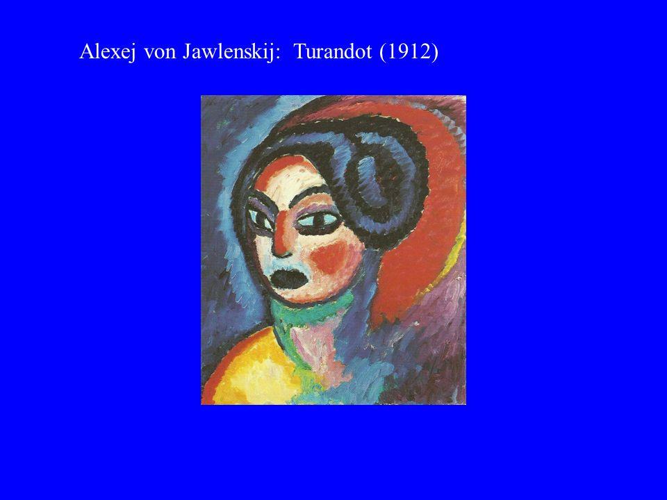 Alexej von Jawlenskij: Turandot (1912)