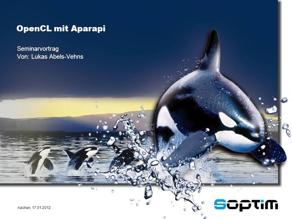 Aachen, 17.01.2012 Seminarvortrag Von: Lukas Abels-Vehns OpenCL mit Aparapi