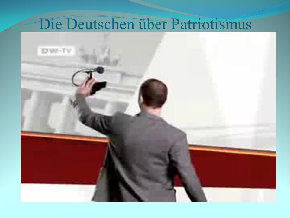 Die Deutschen über Patriotismus