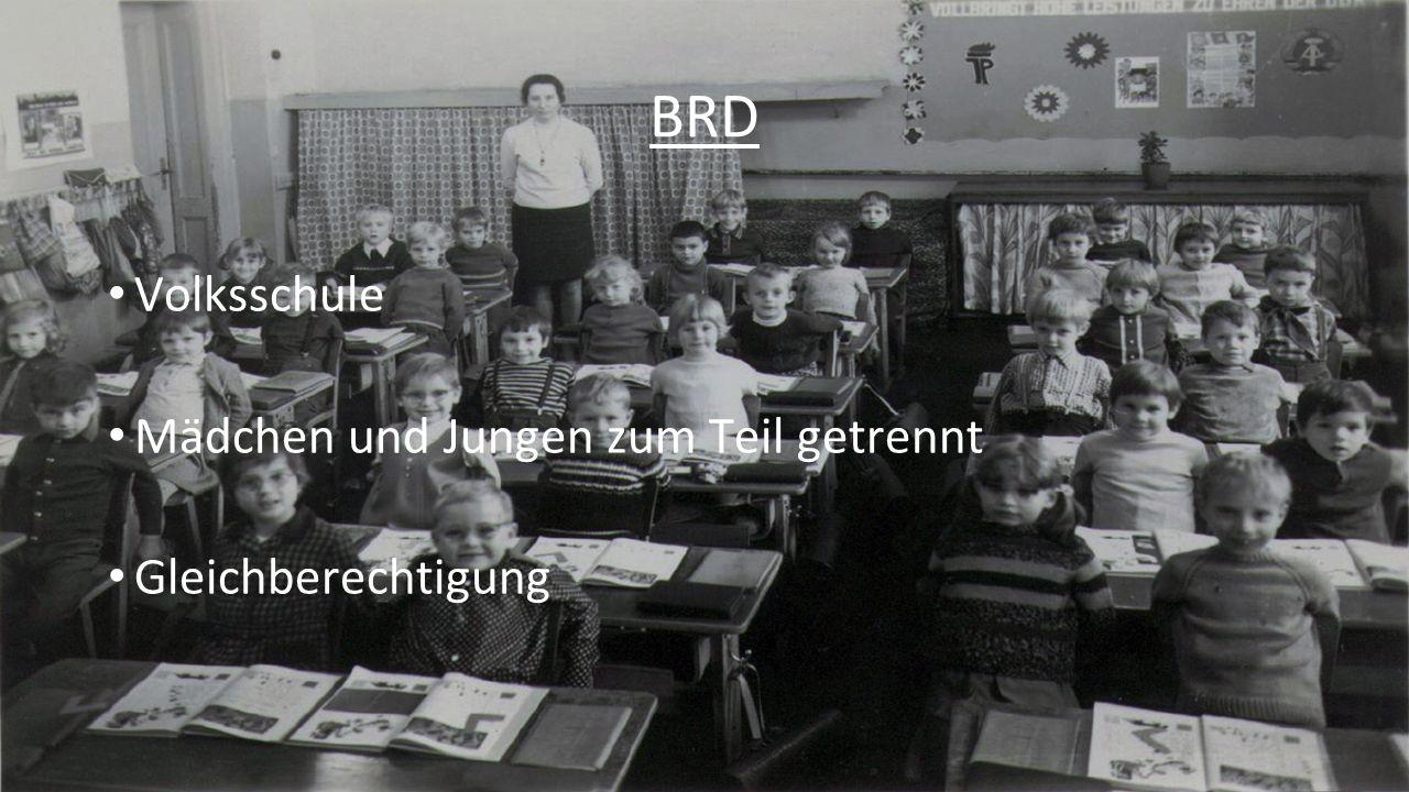 6 Vergleiche mit heute Kaiserreich - 2 Schulwesen -Mädchen und Jungs getrennt -Körperliche Züchtigung -Lehrer höhere Stellung Nationalsozialismus -Anzahl der Schüler -Körperliche Züchtigung / Belohnungen -Kleine Unterschiede Jungs/Mädchen -Andere Zeiten