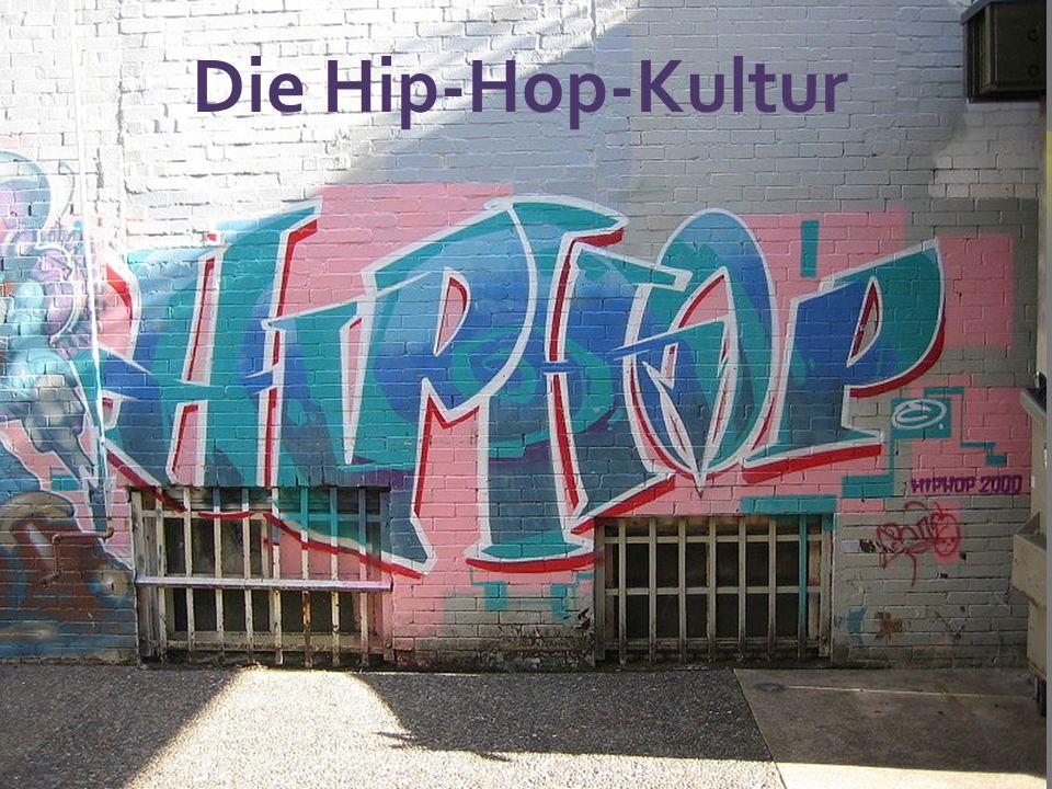 Rap ist ein Sprechgesang und Teil der Kultur des Hip- Hop.