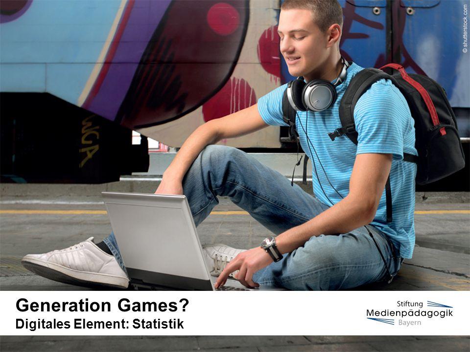 www.medienfuehrerschein.bayern.deSeite 2   Stiftung Medienpädagogik Bayern Statistik Generation Games.
