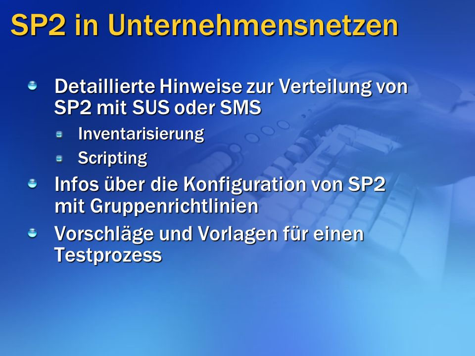 Application Compatibility Guide Dokumentation und Scripte Inhalt: Einführung – neue Merkmale Application Compatibility Testing Mitigation Application Compatibility Issues Deploying Mitigation Fixes http://go.microsoft.com/fwlink/ ?LinkId=33953&clcid=0x409 http://go.microsoft.com/fwlink/ ?LinkId=33953&clcid=0x409