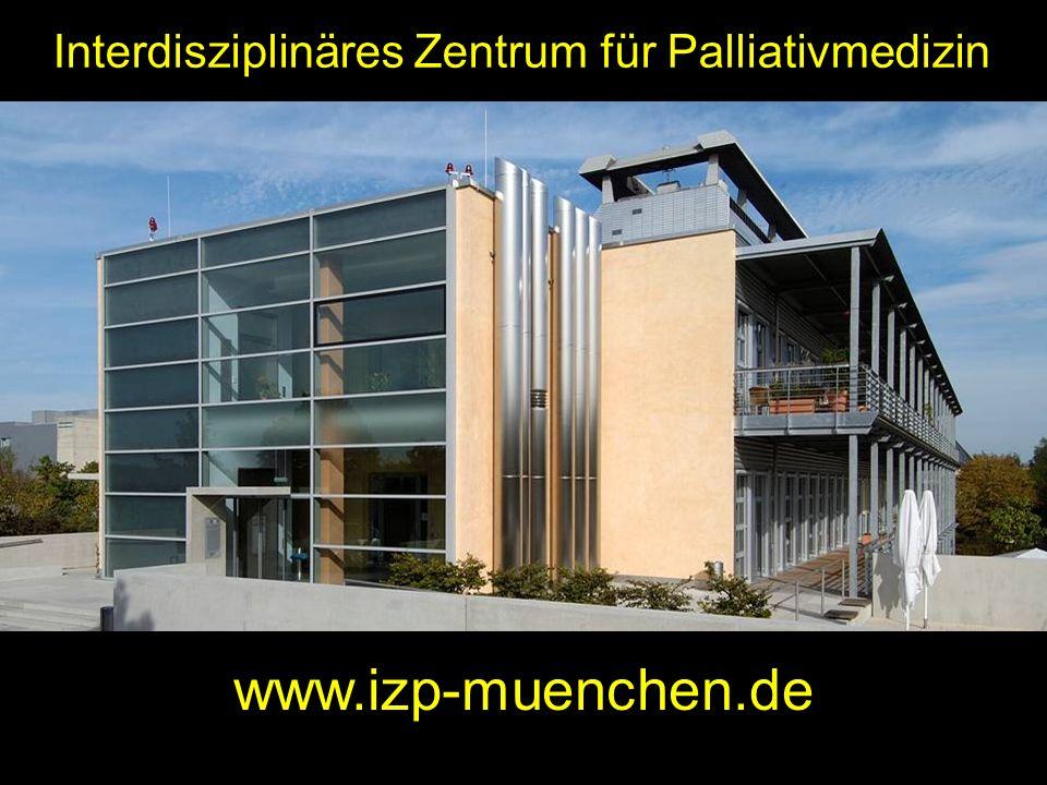 Interdisziplinäres Zentrum für Palliativmedizin www.izp-muenchen.de
