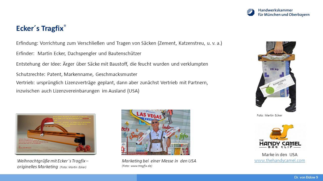 Ecker´s Tragfix ® Erfindung: Vorrichtung zum Verschließen und Tragen von Säcken (Zement, Katzenstreu, u.