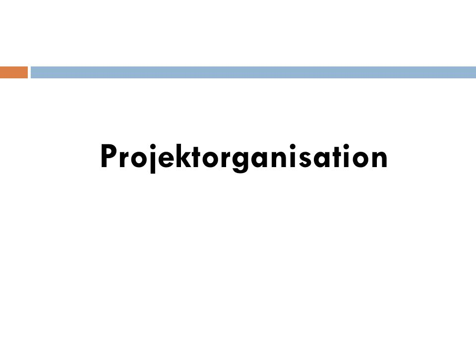 Projektmanagement als phasenorientierter Lösungsprozess