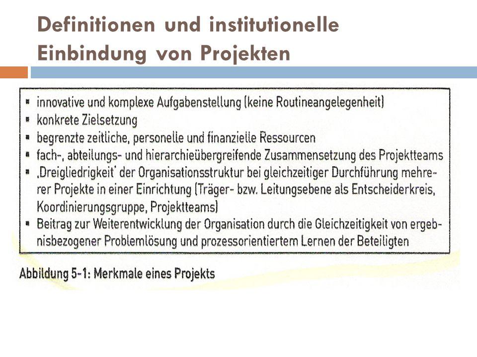 Controlling Mögliche Instrumentarien für das Controlling und die Steuerung des Projektverlaufs: - Sitzungen des Projektteams - Protokolle der Projektgruppe - Ablaufplan mit Meilensteinen - Trendanalyse