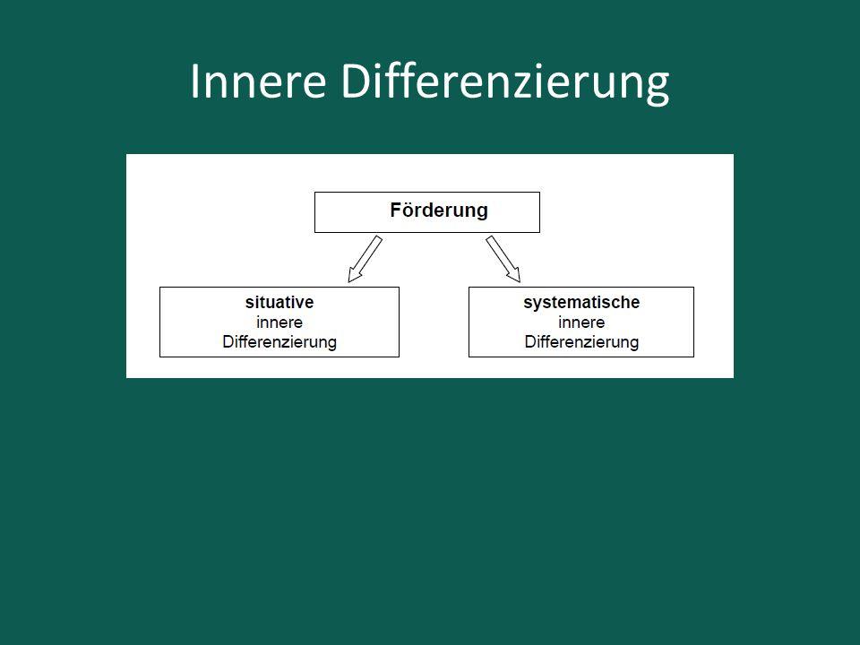 Innere Differenzierung