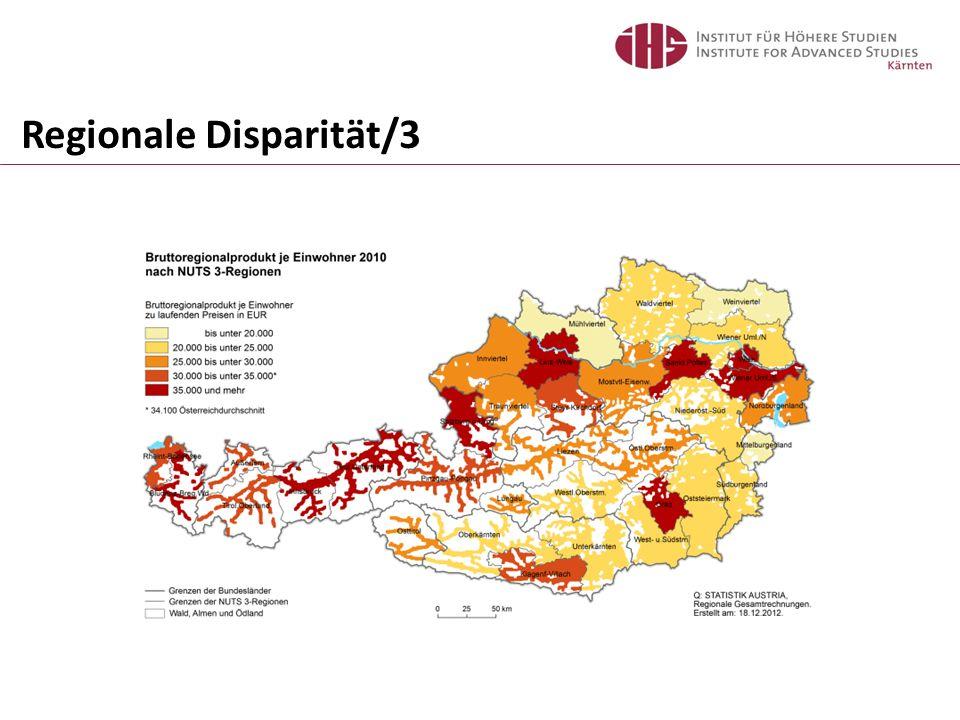 Regionale Disparität/3
