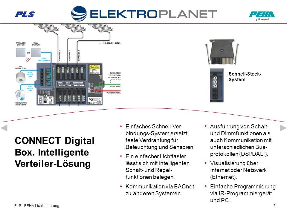 PLS - PEHA Lichtsteuerung7 CONNECT Digital Box.