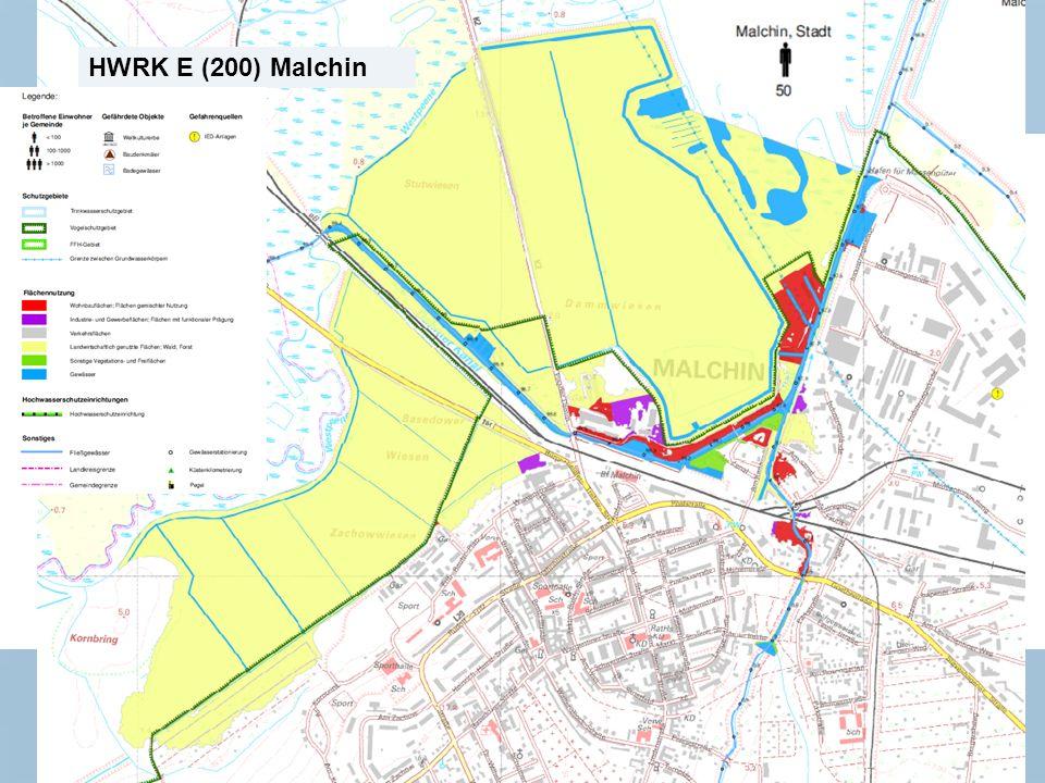 Staatliches Amt für Landwirtschaft und Umwelt Mecklenburgische Seenplatte 10 n Neubrandenburg, den 15.01.2014 HWRK E (200) Malchin