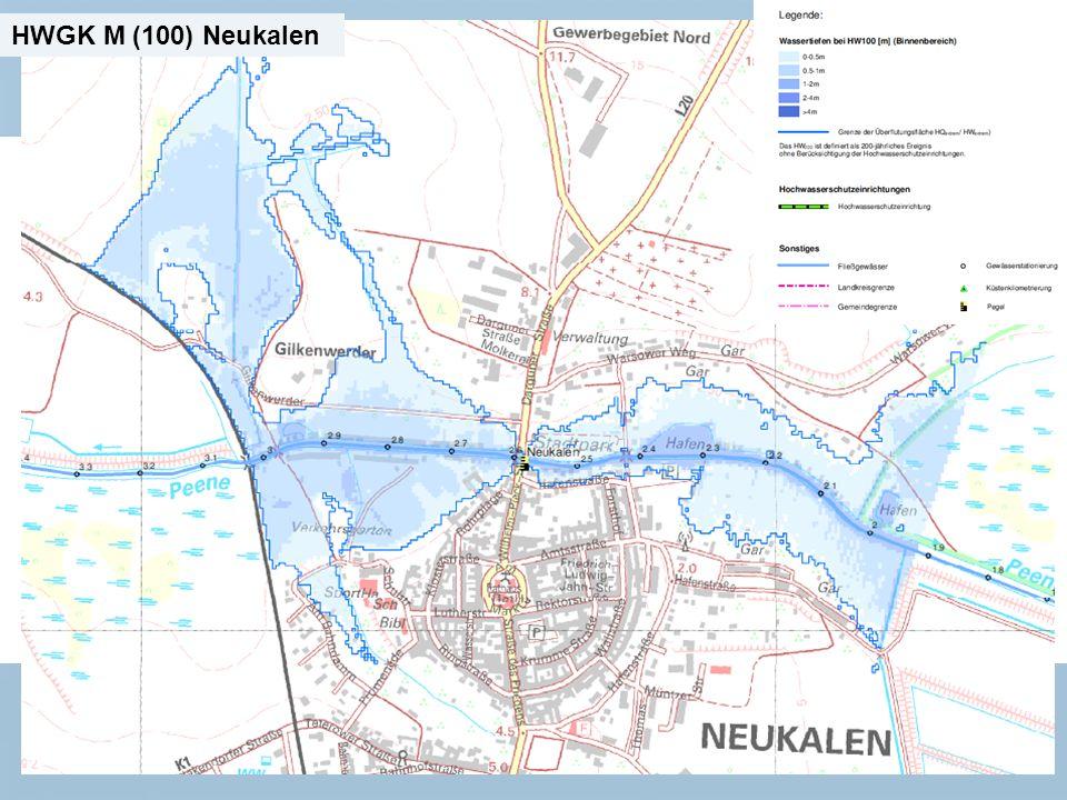Staatliches Amt für Landwirtschaft und Umwelt Mecklenburgische Seenplatte 11 n Neubrandenburg, den 15.01.2014 HWGK M (100) Neukalen