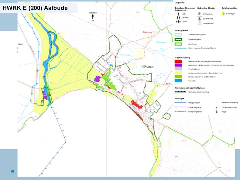 Staatliches Amt für Landwirtschaft und Umwelt Mecklenburgische Seenplatte 16 n Neubrandenburg, den 15.01.2014 HWRK E (200) Aalbude