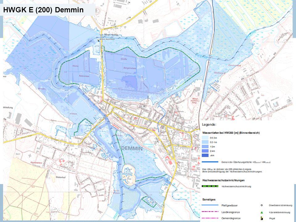 Staatliches Amt für Landwirtschaft und Umwelt Mecklenburgische Seenplatte 18 n Neubrandenburg, den 15.01.2014 HWGK E (200) Demmin