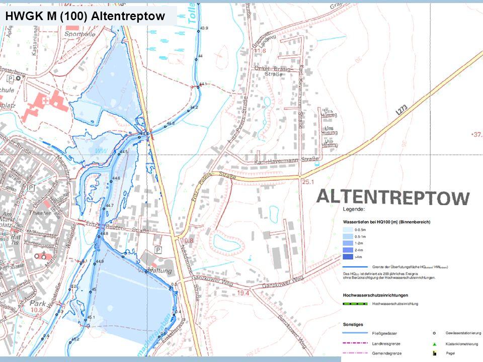 Staatliches Amt für Landwirtschaft und Umwelt Mecklenburgische Seenplatte 20 n Neubrandenburg, den 15.01.2014 HWGK M (100) Altentreptow