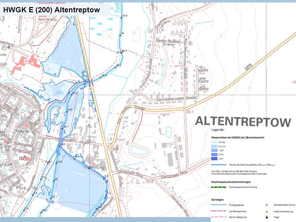 Staatliches Amt für Landwirtschaft und Umwelt Mecklenburgische Seenplatte 21 n Neubrandenburg, den 15.01.2014 HWGK E (200) Altentreptow