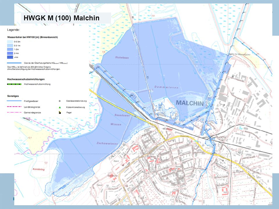 Staatliches Amt für Landwirtschaft und Umwelt Mecklenburgische Seenplatte 8 n Neubrandenburg, den 15.01.2014 HWGK M (100) Malchin