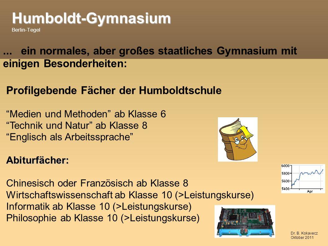 Humboldt-Gymnasium Humboldt-Gymnasium Berlin-Tegel