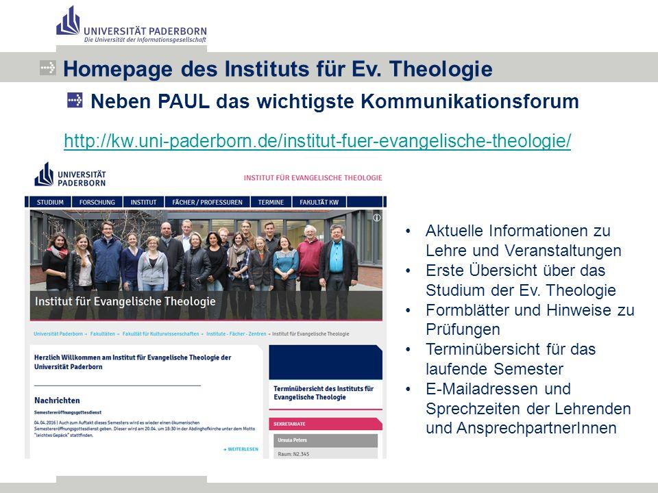 http://kw.uni-paderborn.de/institut-fuer-evangelische-theologie/ Homepage des Instituts für Ev.