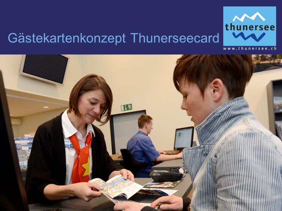 Gästekartenkonzept Thunerseecard