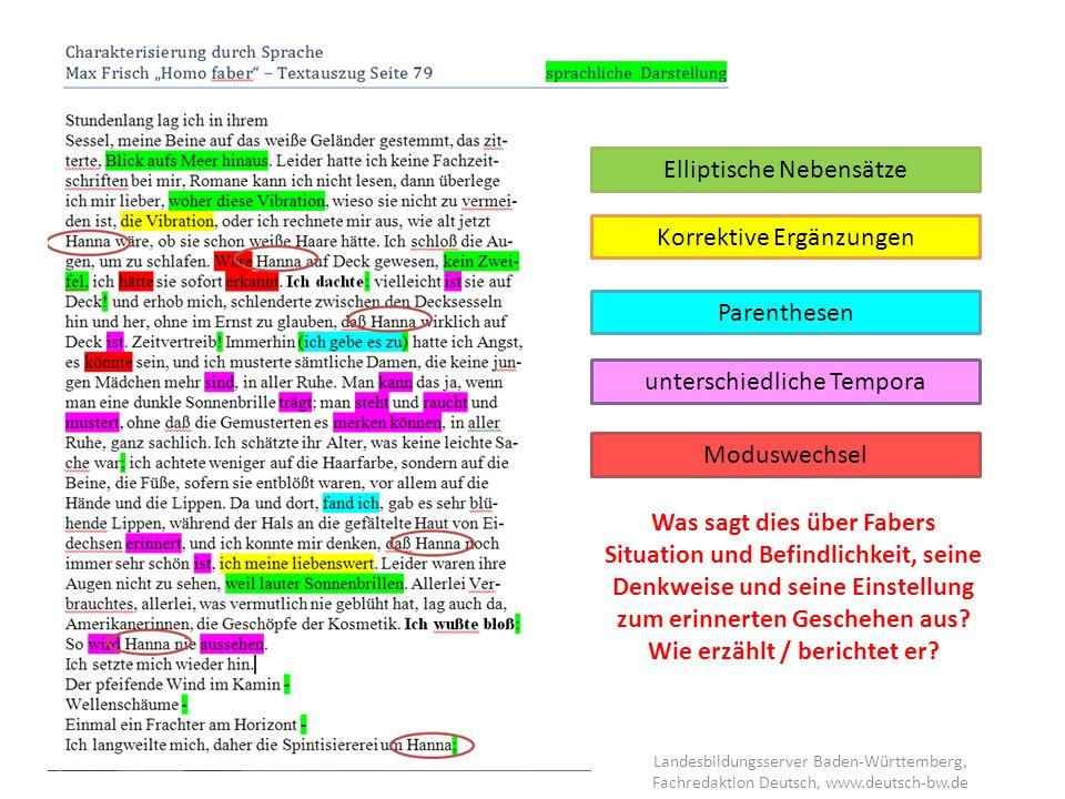 Landesbildungsserver Baden-Württemberg, Fachredaktion Deutsch, www.deutsch- bw.de Textinterpretation