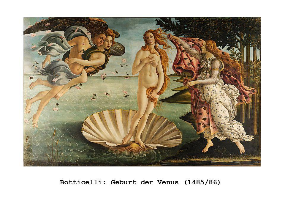 Botticelli: Geburt der Venus (1485/86)
