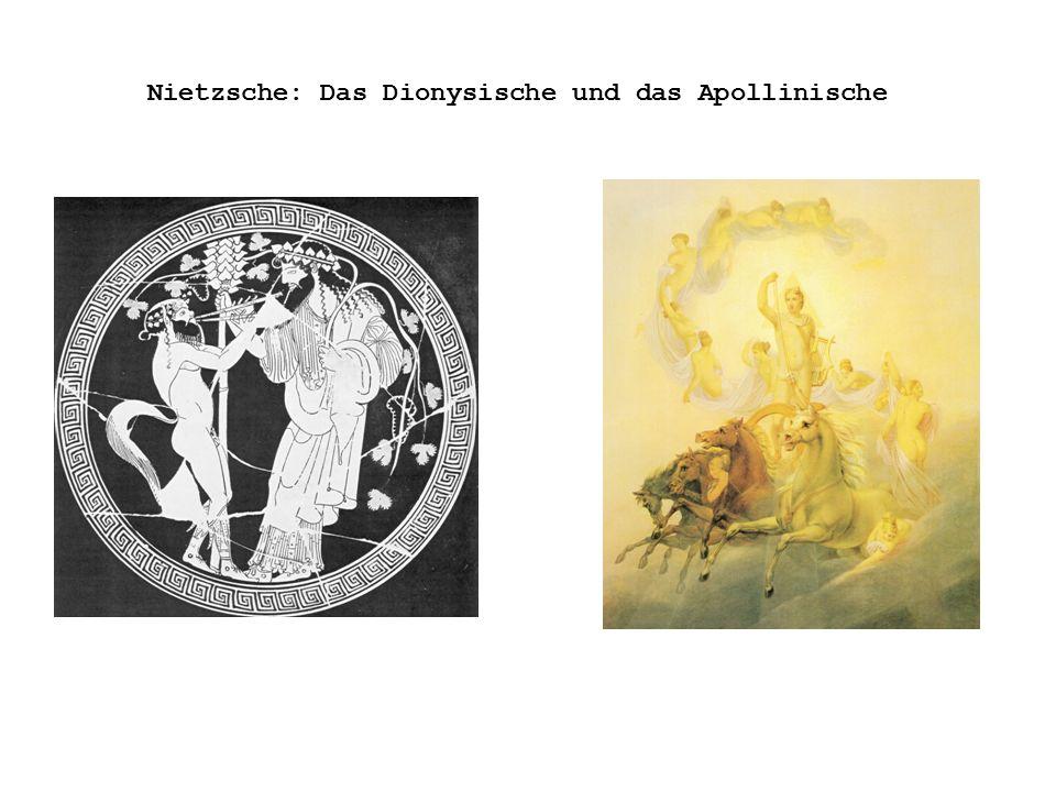 Nietzsche: Das Dionysische und das Apollinische