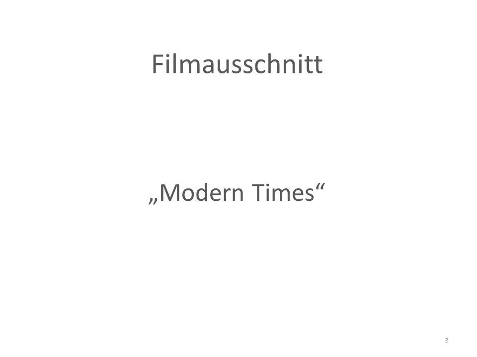"""Filmausschnitt """"Modern Times 3"""