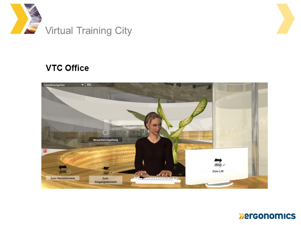 Virtual Training City VTC Office