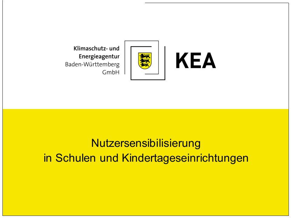 Nutzersensibilisierung in Schulen und Kindertageseinrichtungen