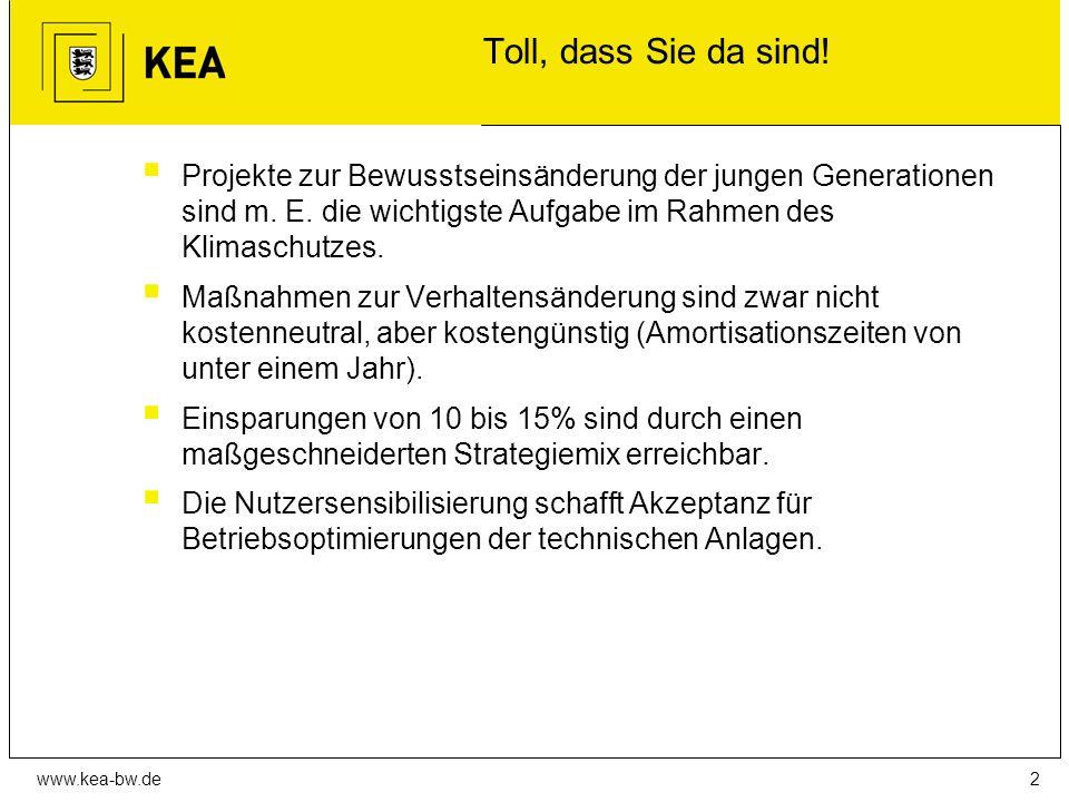 www.kea-bw.de Toll, dass Sie da sind.