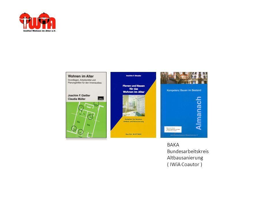 BAKA Bundesarbeitskreis Altbausanierung ( IWiA Coautor )