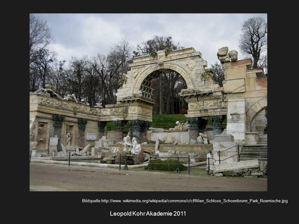 Leopold Kohr Akademie 2011 Bildquelle:http://www.