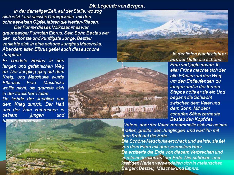 Die Legende von Bergen.