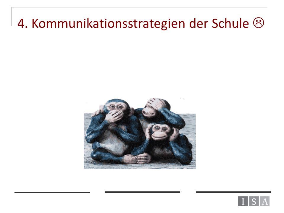 4. Kommunikationsstrategien der Schule 