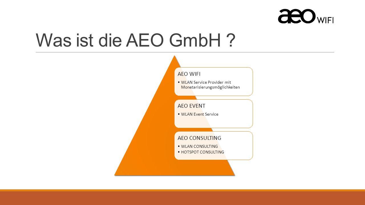 Was ist die AEO GmbH .