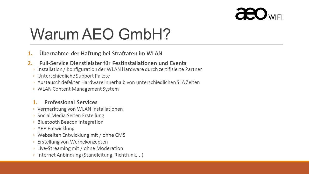 Warum AEO GmbH.