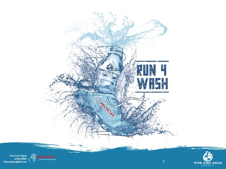 12 Viva con Agua unterstützt Wasserprojekte von Scheckübergabe + Feedback Das Geld wird übergeben und die SchülerInnen bekommen Feedback zu Ihrer Leistung.