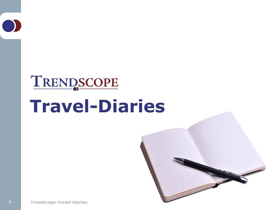 Trendscope Travel-Diaries Travel-Diaries 1