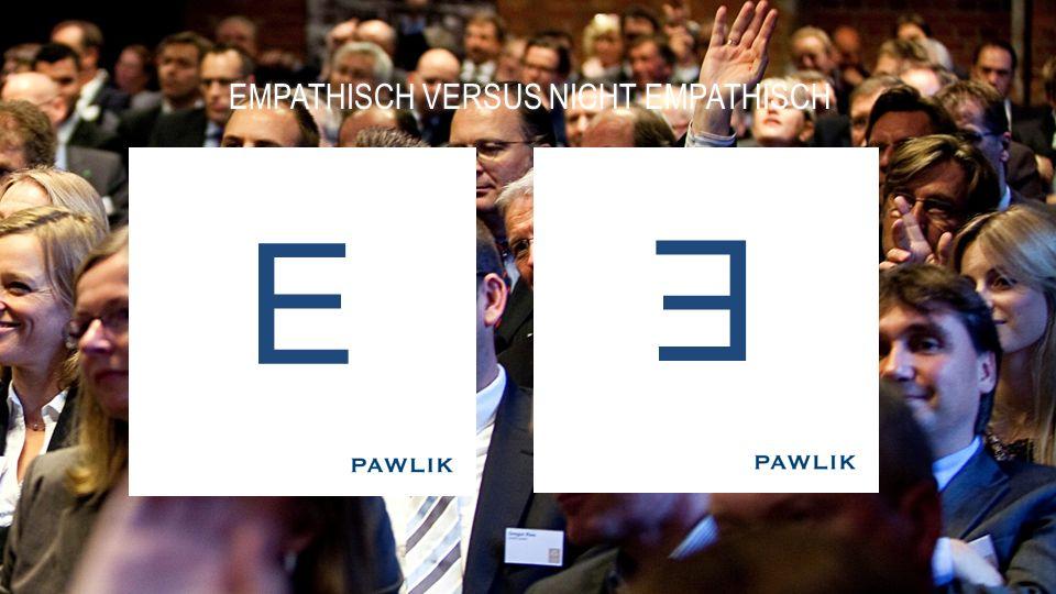 EMPATHISCH VERSUS NICHT EMPATHISCHEMPATHISCH VERSUS NICHT EMPATHISCH E E