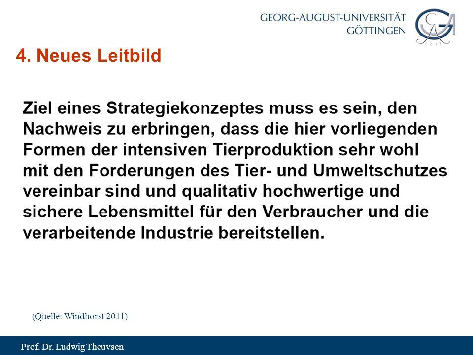 Prof. Dr. Ludwig Theuvsen 4. Neues Leitbild (Quelle: Windhorst 2011)