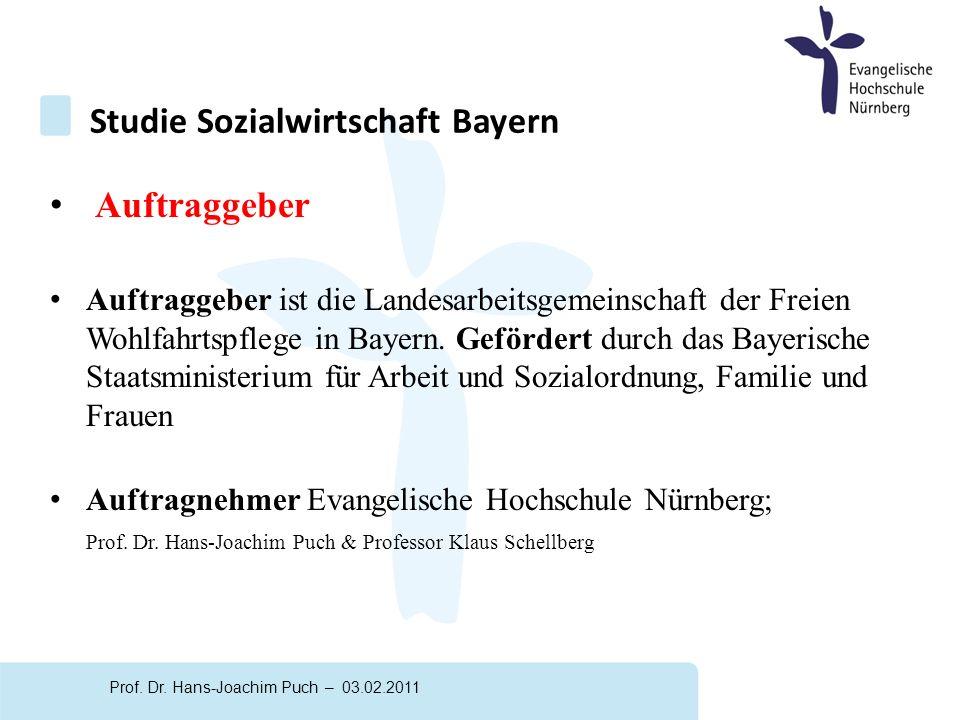 Auftraggeber Auftraggeber ist die Landesarbeitsgemeinschaft der Freien Wohlfahrtspflege in Bayern.